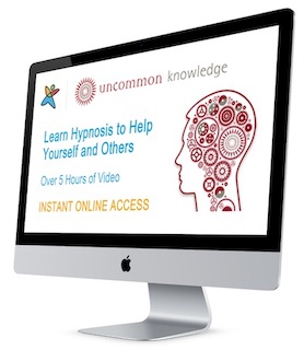 Uncommon Knowledge Hypnosis Course: Instant Access online or Home Study DVD Course